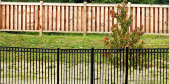 Ornamental and Wood Fence
